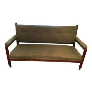Mid-Century Tufted Edwardian Sofa