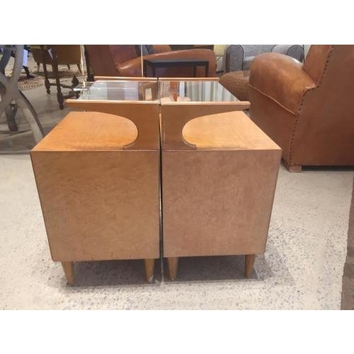 Vintage Mid-Century Nightstands, France, a Pair For Sale In Nashville - Image 6 of 8