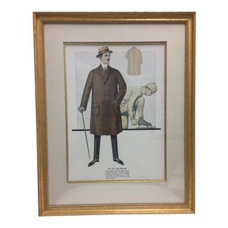 Framed Antique Clothing Line Print, 12 of 14