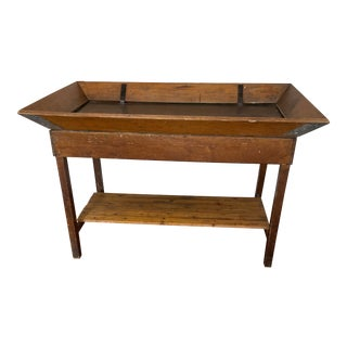 Vintage Display Table From Woolworths For Sale