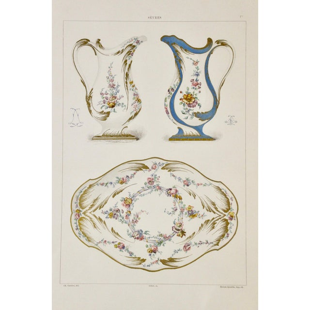Sevres Porcelain Illustrated Plates, S/4 For Sale In Richmond - Image 6 of 9