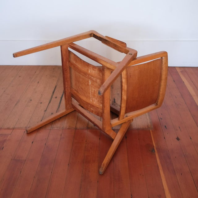 1940s Axel Larsson Lounge Chair, Sweden, 1948 For Sale - Image 5 of 13