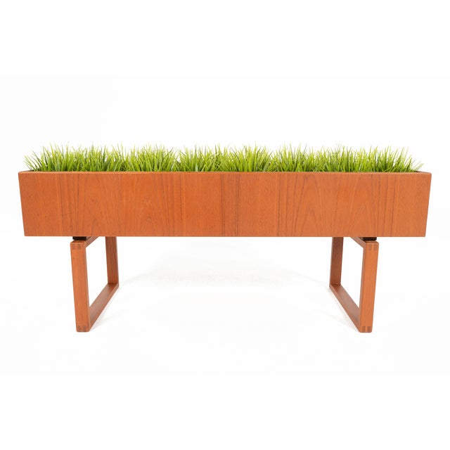 Danish Modern Kai Kristiansen Danish Modern Teak Planter For Sale - Image 3 of 6