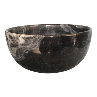 Black Marble Bowl For Sale