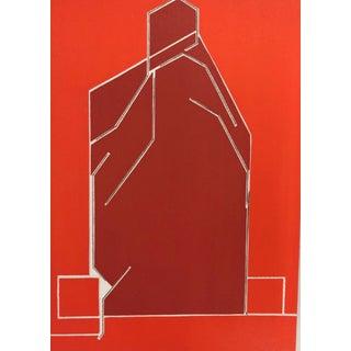 1970 Derriere Le Miroir Pablo Palazuelo Original Lithograph DM02184 For Sale