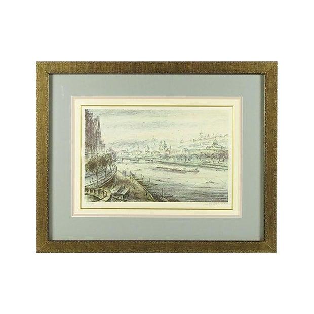 "Melichar ""Volga River"" Lithograph For Sale"