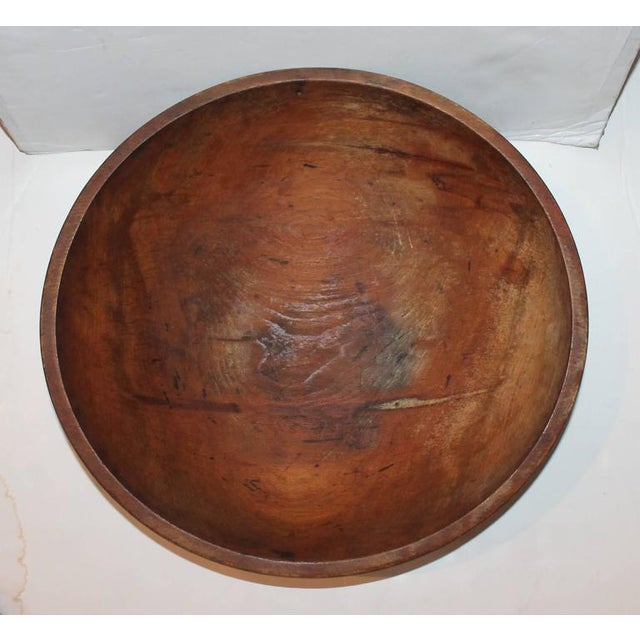Metal Large 19th Century Butter Bowl from New England For Sale - Image 7 of 7