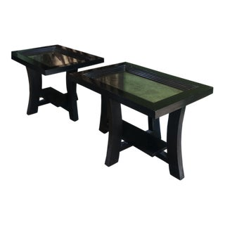 Paul Frankl Side Tables - A Pair For Sale