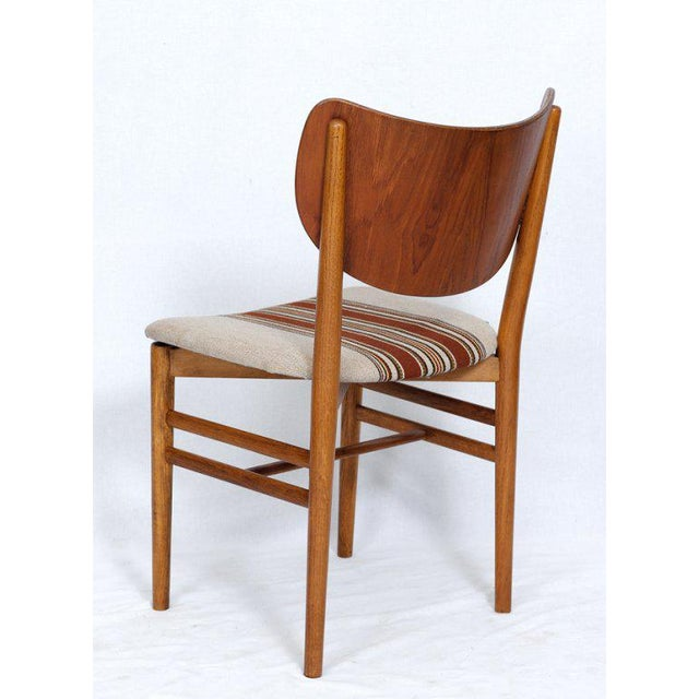 Set of 4 Eva & Niels Koppell Dining Chairs For Sale - Image 4 of 7