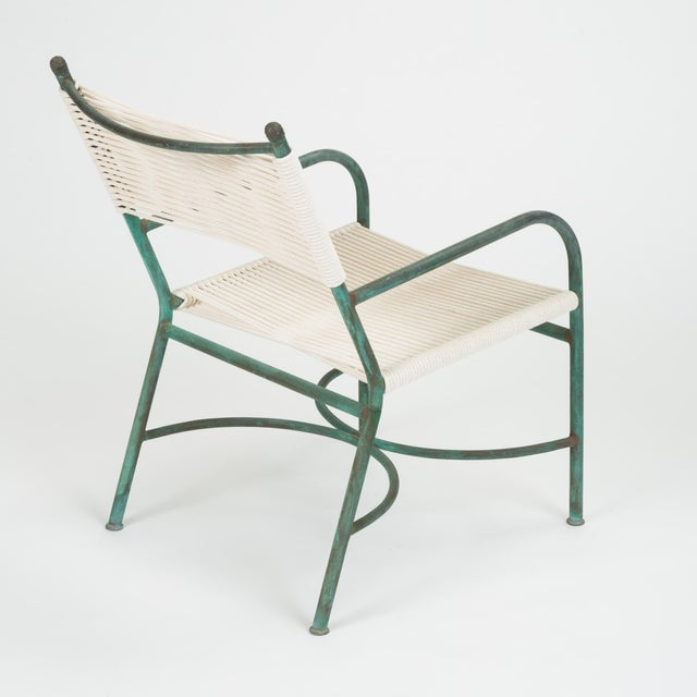 Robert Lewis Bronze Patio Lounge Chair For Sale - Image 9 of 13