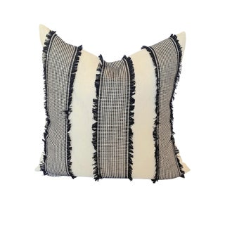 "Contemporary Schumacher Tulum Pillow - 26""x26"" For Sale"