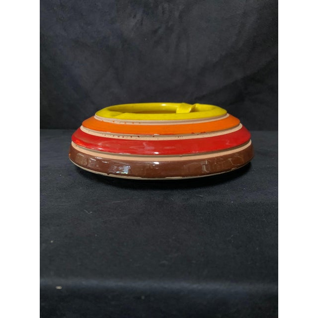 This is a rare vintage ashtray from the 1960s by Aldo Londi for Bitossi Ceramiche, Italy. Though not produced in as large...