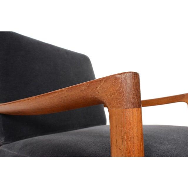 Ole Wanscher Teak Senator Rocking Chair - Image 3 of 8
