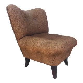 Vintage Modern Slipper Chair For Sale