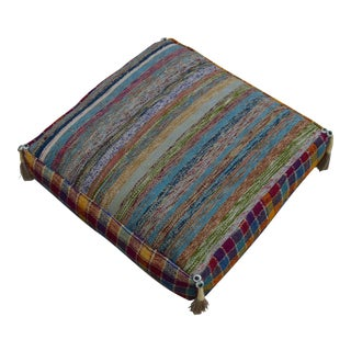 Turkish Hand Woven Kilim Sitting Pillow Decorative Cushion Cover- 22″ X 22″