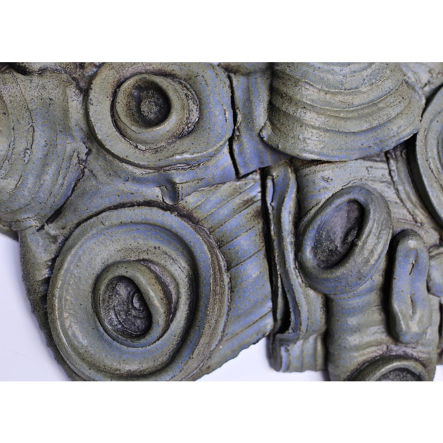 Tim Keenan Ceramic Wall Sculpture For Sale In Los Angeles - Image 6 of 7