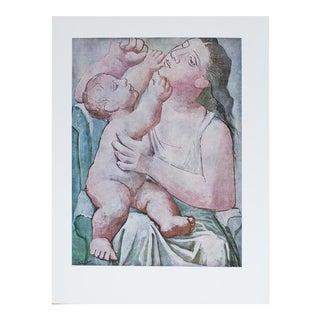 1971 Picasso Maternite Photogravure