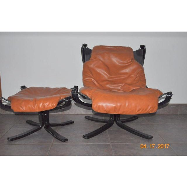 Falcon Chair and Ottoman Set - Image 2 of 8