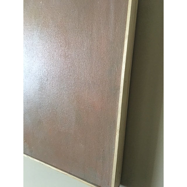 David Bell Large Acrylic on Canvas Abstract Painting - Image 11 of 11