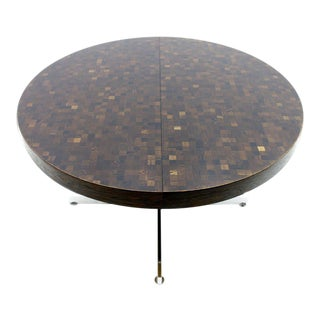 Rare Dining Table by Dieter Waeckerlin for Idealheim, Switzerland, 1960s For Sale