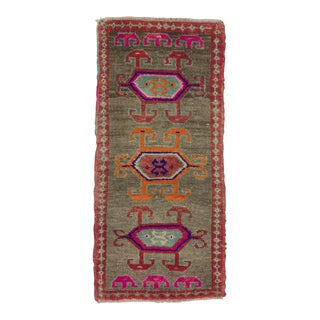 1960s Turkish Herki Wool Rug