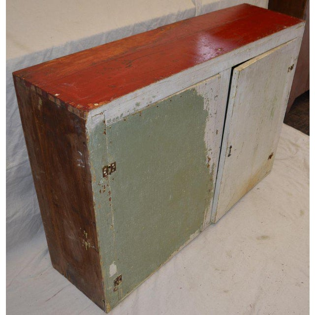 Mid-Century Modern Cupboard Freestanding From Mid-1900s for Hallway, Kitchen or Entranceway Storage For Sale - Image 3 of 12