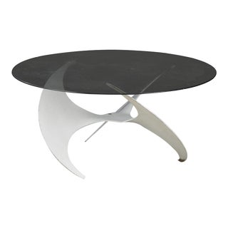 1950s Abstract Knut Hesterberg 'Model Propeller' Coffee Table For Sale