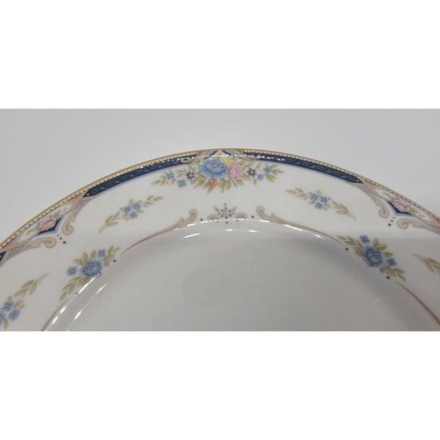 Ceramic 6 Piece Service for 12 Lenox Abigail Porcelain China Dinnerware Set, 1990s ~ Mint ~ For Sale - Image 7 of 13