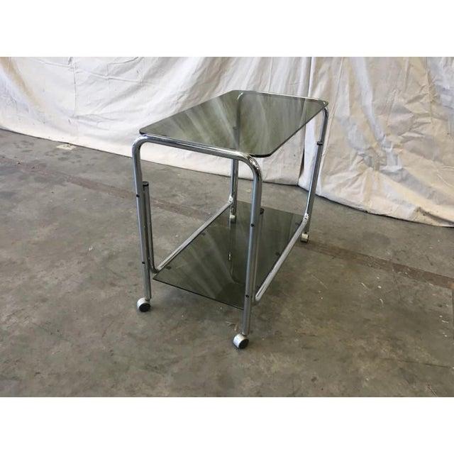 Mid-Century Modern Drink Cart Server For Sale - Image 5 of 8