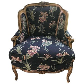 Louis XV Style Bergère, 20th Century For Sale