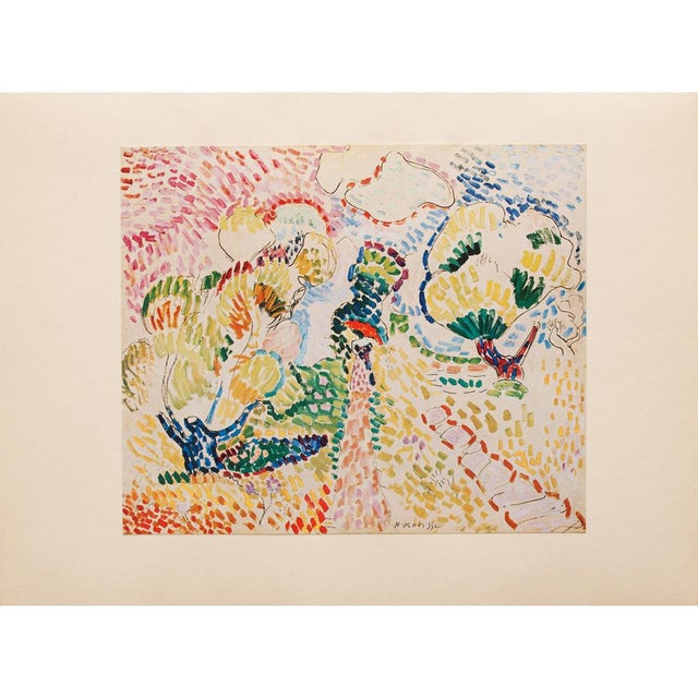 "Green 1947 Henri Matisse, ""The Olives"" Original Period Parisian Lithograph For Sale - Image 8 of 8"