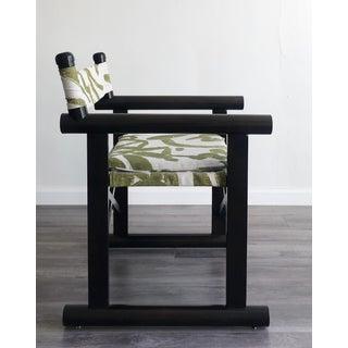 Modern Sabin Beachwood Campaign Safari Chair Preview