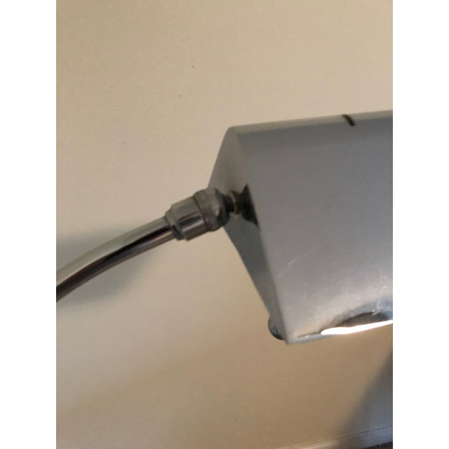 1970s Vintage Arched Mid-Century Chrome Floor Lamp For Sale - Image 4 of 10