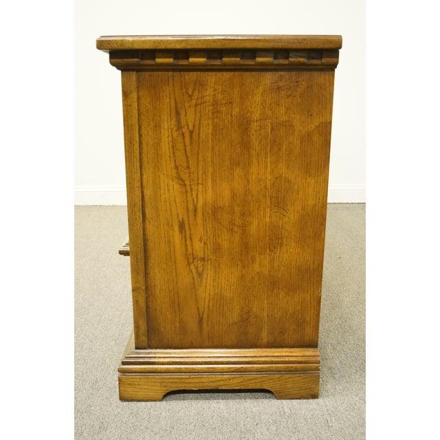 20th Century Italian Dixie Furniture Triple Door Dresser For Sale - Image 9 of 13
