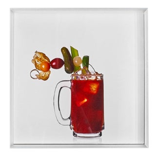 'Ojo Rojo' Limited-Edition Cocktail Portrait Photograph For Sale