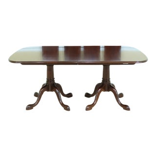Stickley Solid Cherry Dining Room Table W. 4 Leaves For Sale