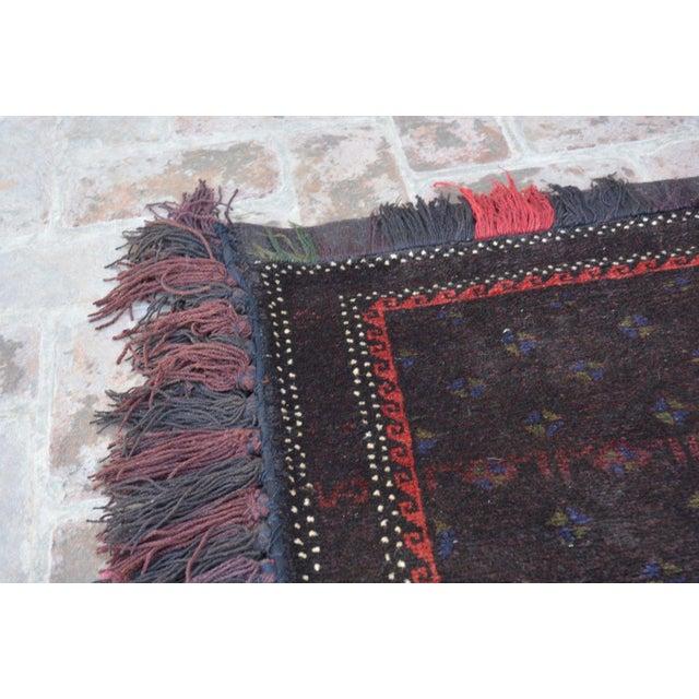 Afghan Decorative Handmade Floor Cushion For Sale - Image 3 of 6