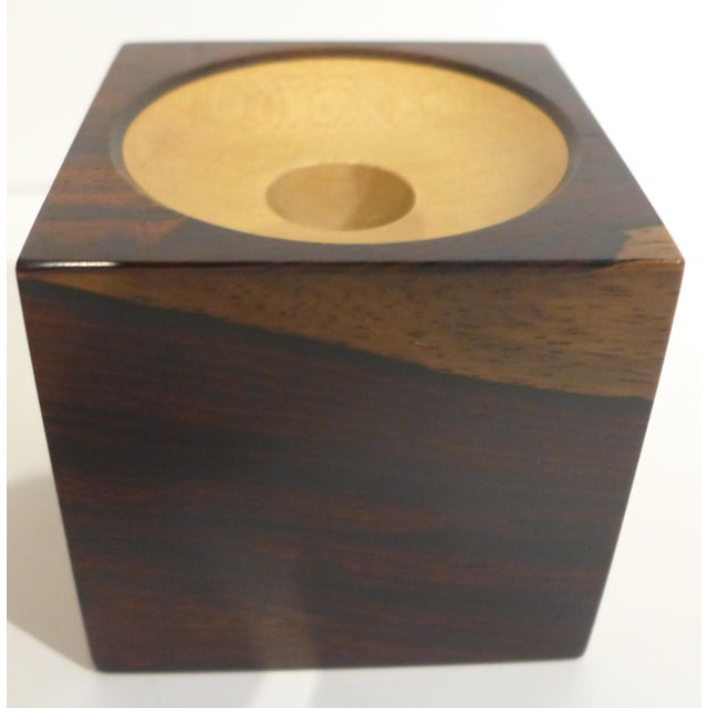 Mid-Century Modern Candleholder by John Makepeace For Sale - Image 3 of 6