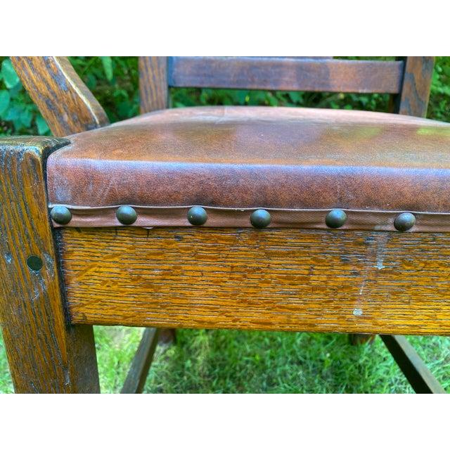Roycroft 1900s Roycroft Grove Park Inn Chair For Sale - Image 4 of 7