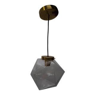 Geometric Glass Hanging Pendant Light