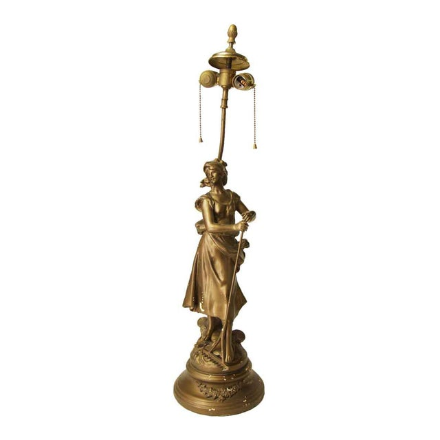 Figural Lamp For Sale - Image 9 of 10