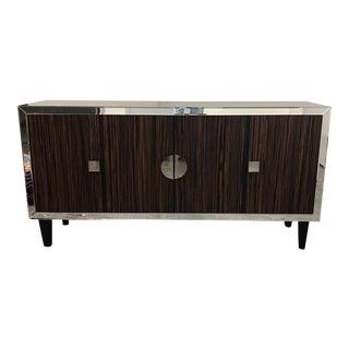 Stein World Brighton Zebrawood Storage Cabinet