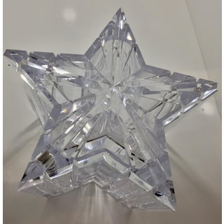 1970s Vintage Alessandro Albrizzi Lucite Star Ice Bucket Preview
