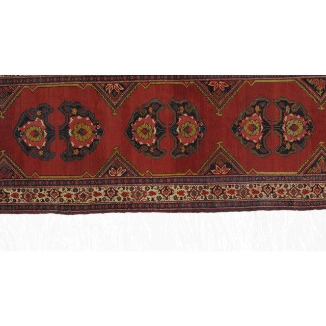 1920s 1920s Leon Banilivi Vintage Persian Mishan Malayer Rug - 3′8″ × 15′5″ For Sale - Image 5 of 7