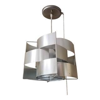Max Sauze Aluminum Ceiling Lamp For Sale