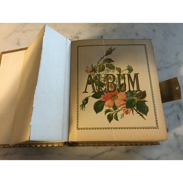 Antique Victorian Picture Album For Sale In Saint Louis - Image 6 of 11