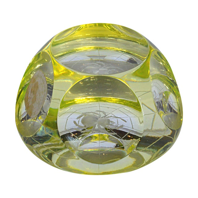 Royal Doulton Crystal Spider Paperweight Chairish