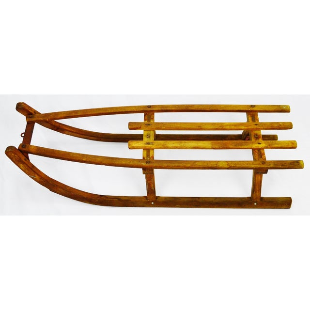 Early Children's Wooden Sled - Image 2 of 9