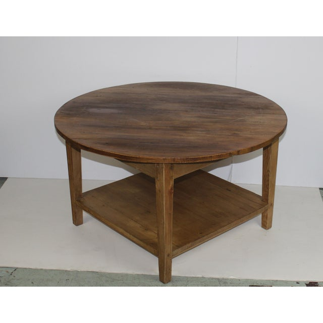 American Pine Coffee Table - Image 4 of 4
