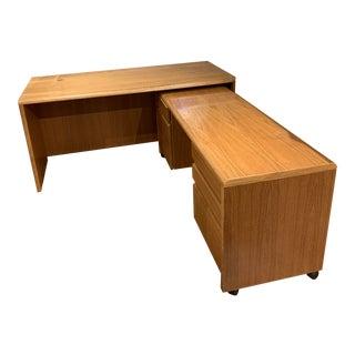 Jesper Teak Desks - A Pair For Sale